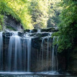 La cascade du Hérisson