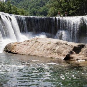 La cascade de la vis
