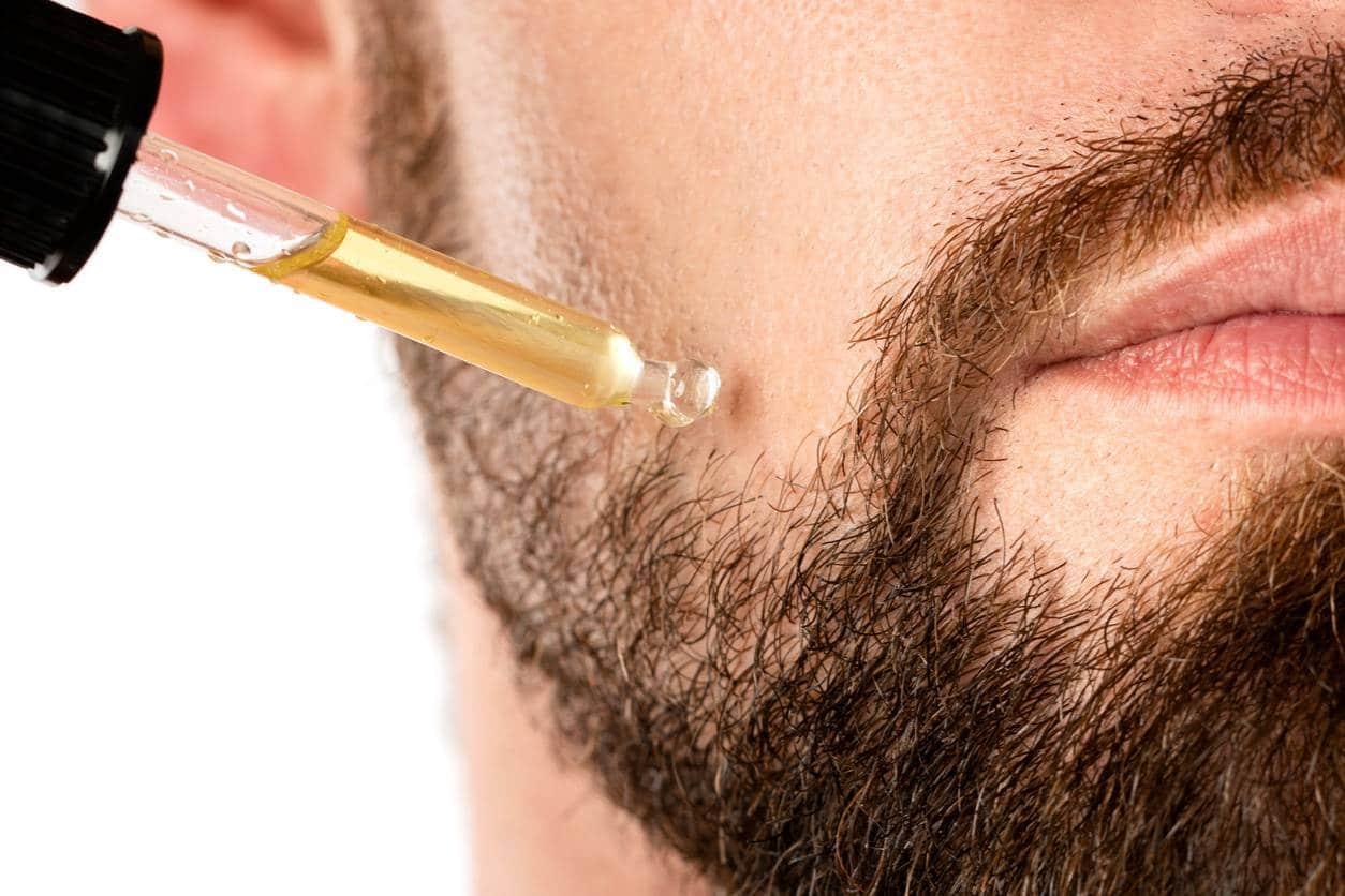 barbe de 3 jours contours